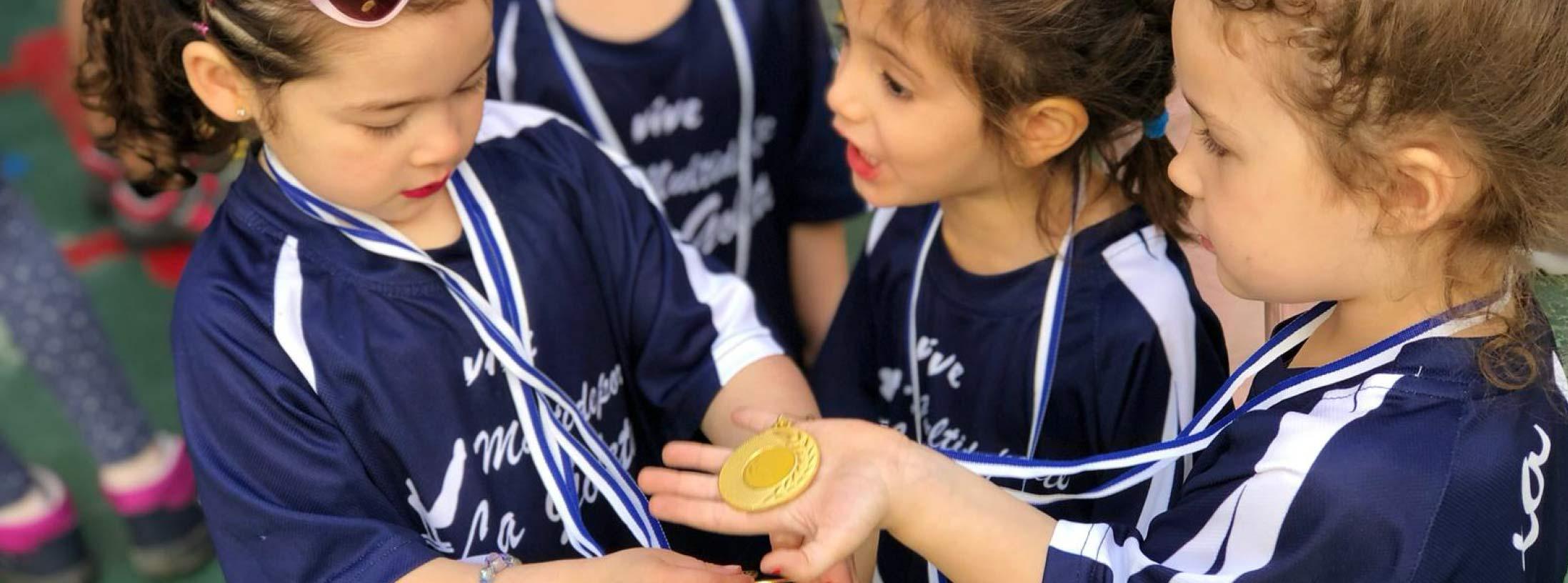 deportividad como valor en niños y niñas